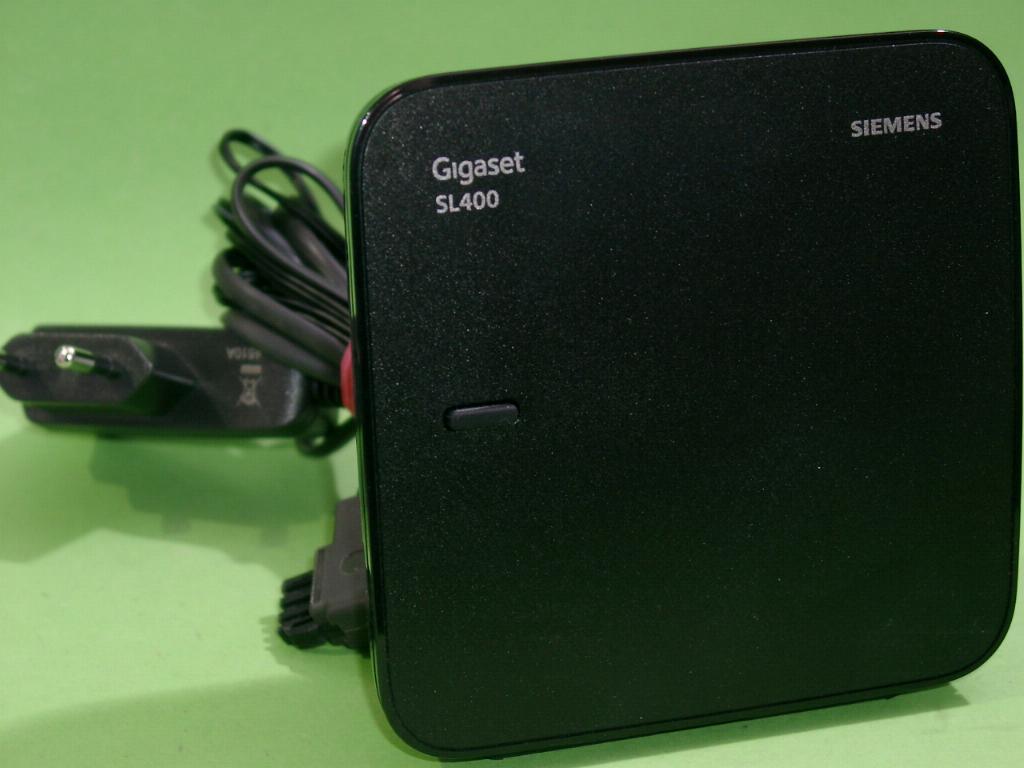 gigaset basisstation sl400 sms ecodect bluetooth ebay. Black Bedroom Furniture Sets. Home Design Ideas